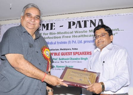 Road to Infection free Healthcare in  Bihar state: CME on Bio Medical Waste Management held on 20th Sepetember 2013