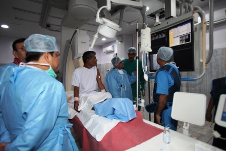 Establishment of Cath Lab Unit: Cath - 4