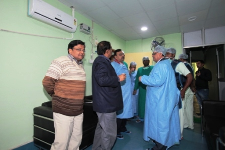 Establishment of Cath Lab Unit: Cath - 9