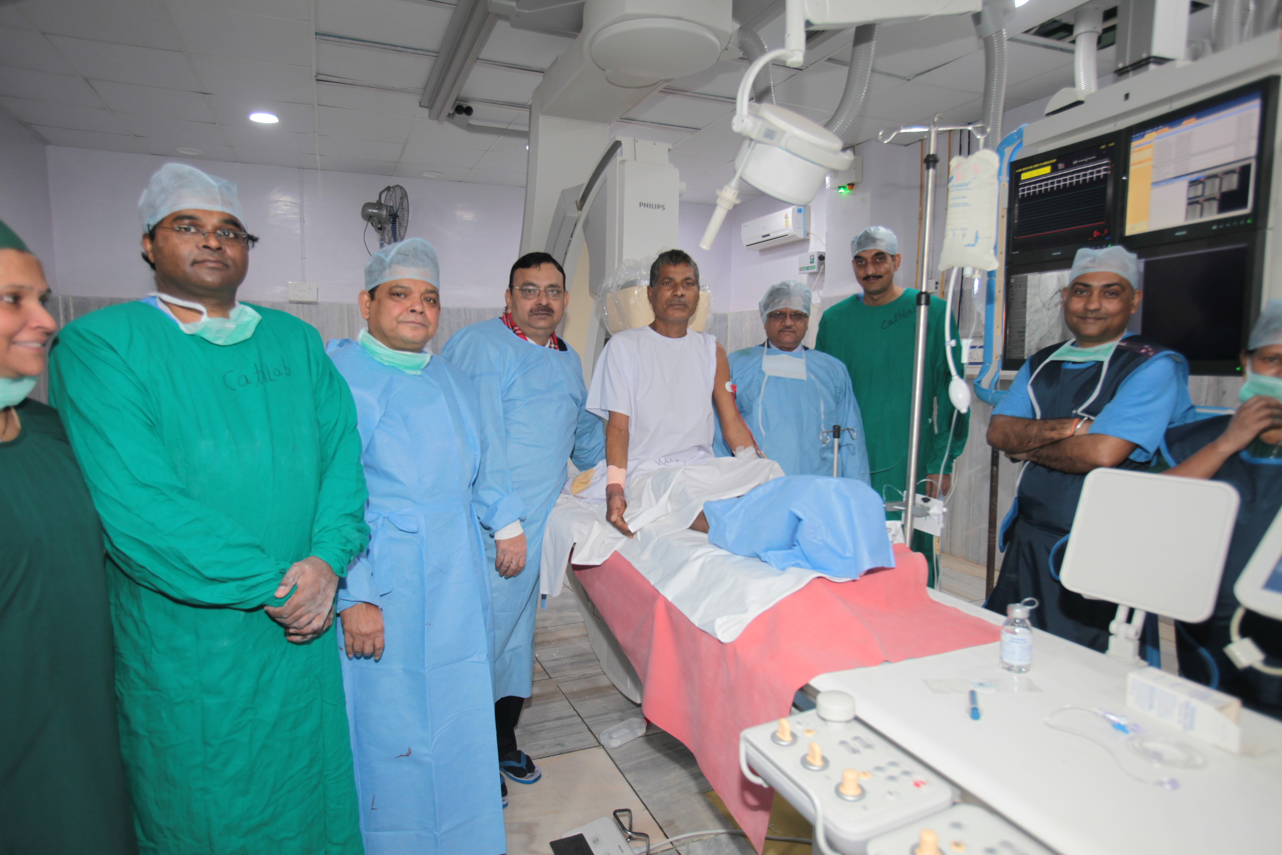 Establishment of Cath Lab Unit: Cath - 10