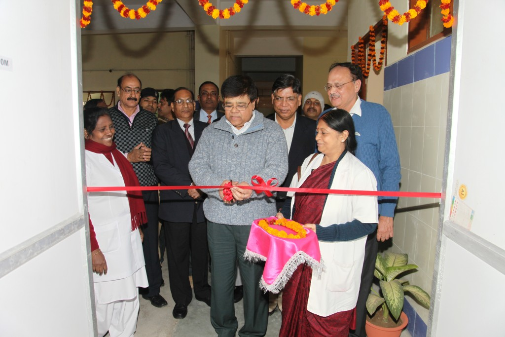 Inauguration of department of Obs. & Gyn. at IGIMS: Inauguration of department of Obs. & Gyn. at IGIMS by Sri Ashok Kumar Chauhan, IAS, Director, IGIMS.